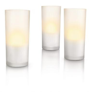 Accents Bộ CandleLights 3L, dạng trong, LED 69108/60/PH